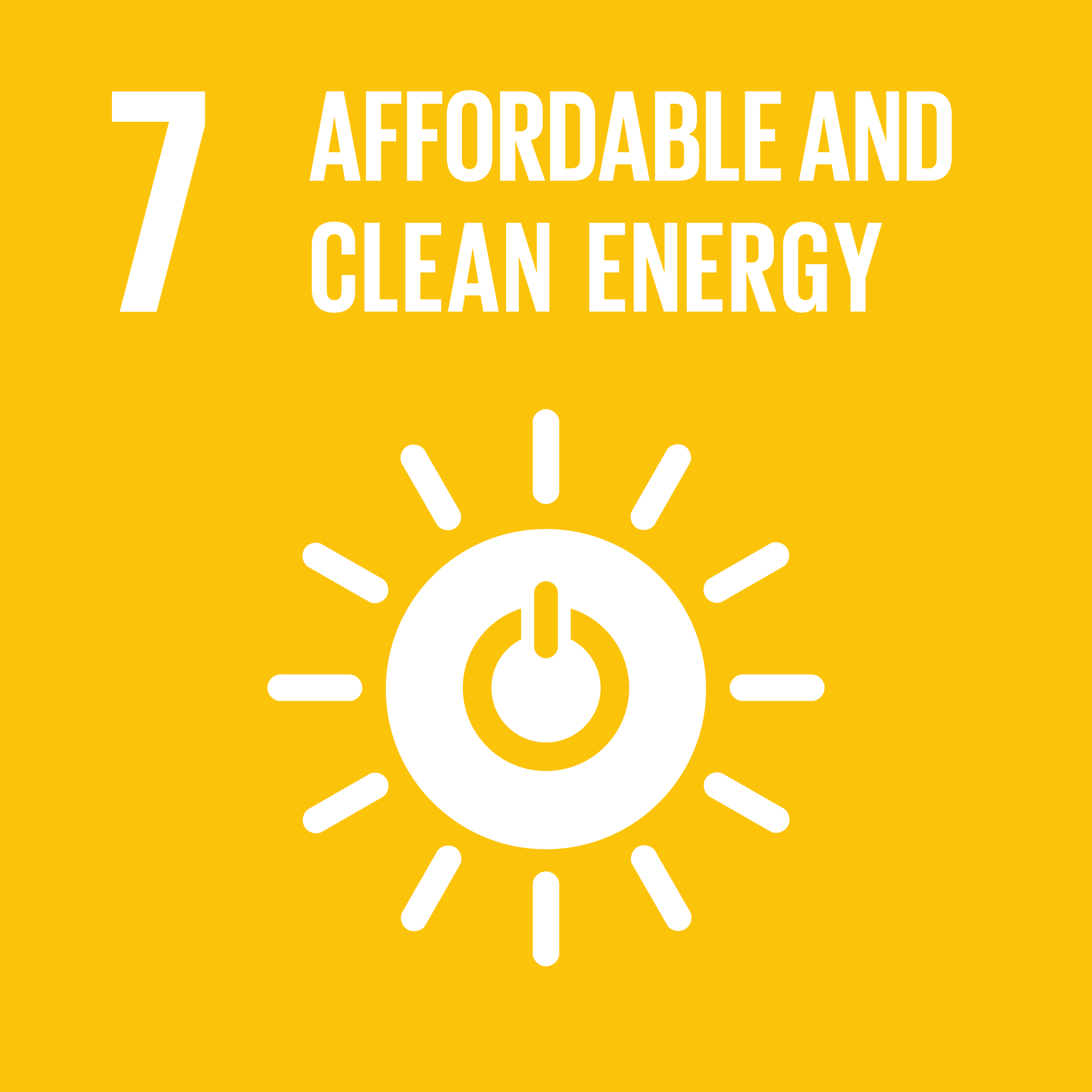 SDG Afoordable and clean energy